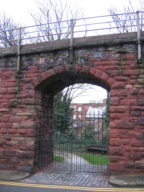 Gateway through the city walls #2
