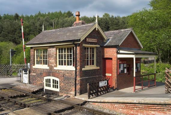 Levisham Station Signal Box