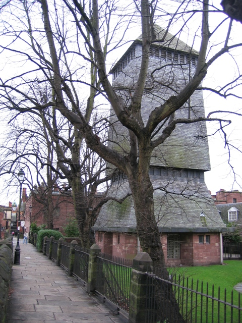 Addleshaw Tower and the city walls