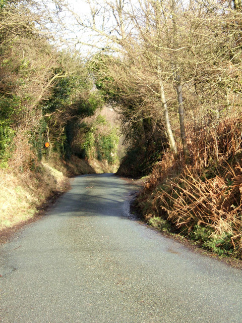 Unclassified road from Stokegorse to Clee St. Margaret