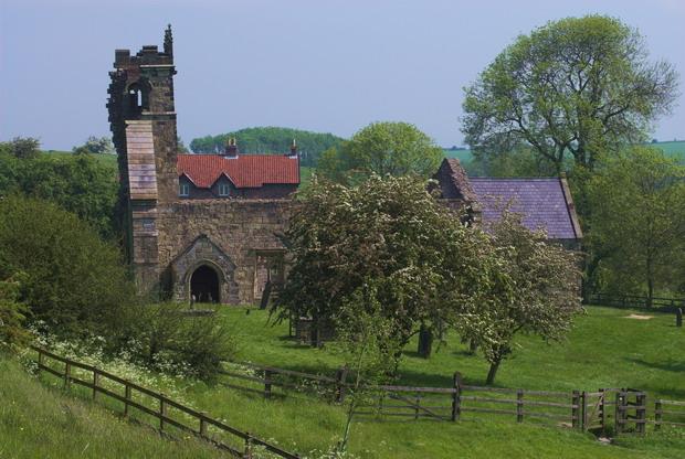 Wharram Percy, St Martins Church