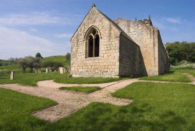Wharram Percy, St Martins Church