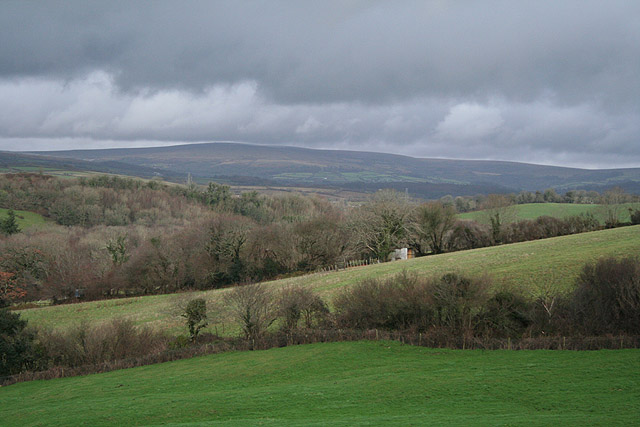 Yealmpton: towards Dartmoor