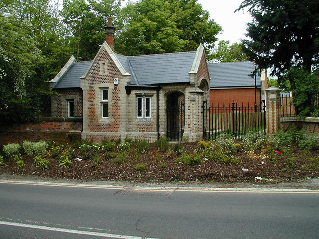 Gate House of old St. Andrews Hospital, Norsey Road, Billericay