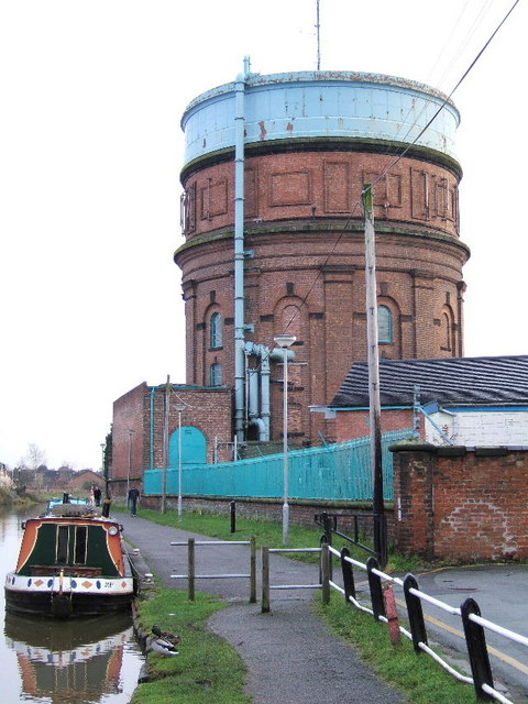 The Water Tower at Boughton, Chester