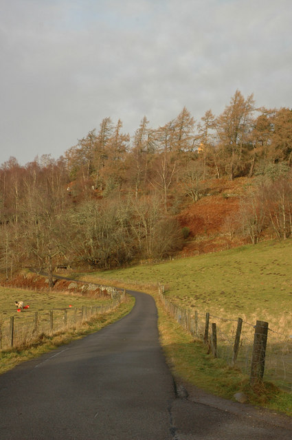 Road at Ardclach