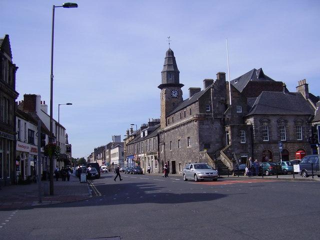 Musselburgh High Street, East Lothian