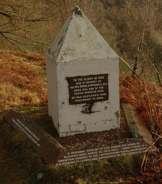 Memorial at Ardclach