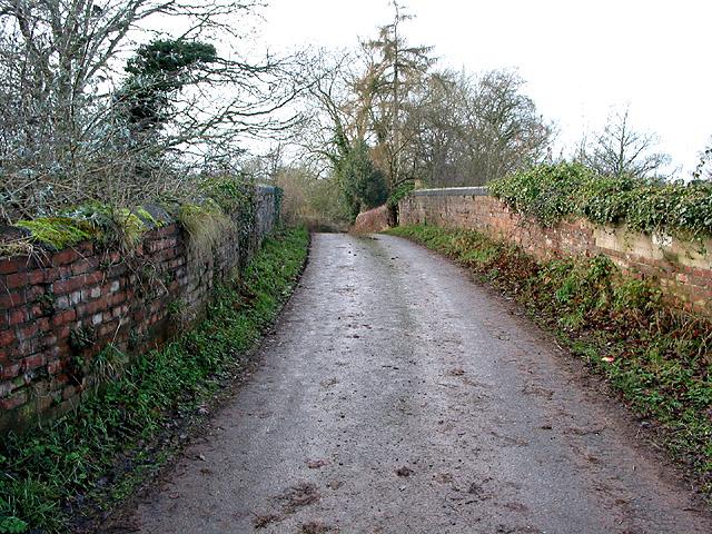 Bridge on narrow country road