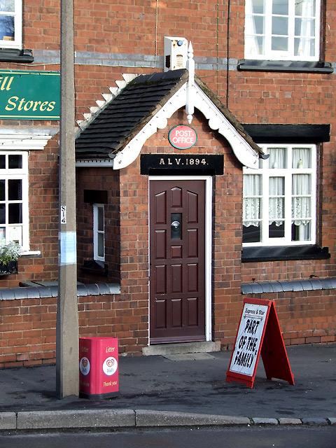 Shareshill Village Post Office, Staffordshire