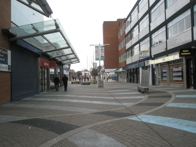 Shopping arcade just off Commercial Road