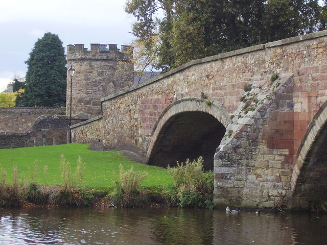 Nungate Bridge and Doo'cot, Haddington.