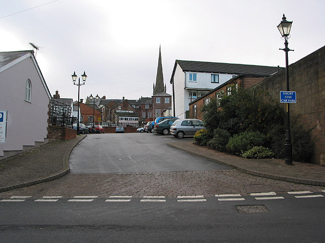 Short stay car park, New Street, Ross-on-Wye