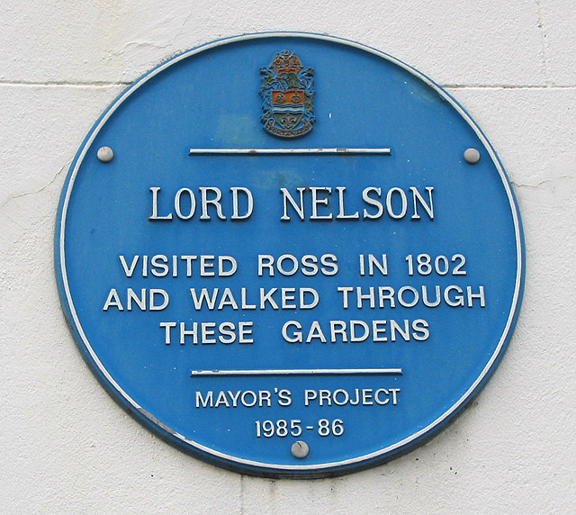 Lord Nelson visits Ross-on-Wye in 1802