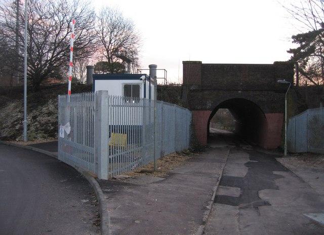 Railway bridge & path