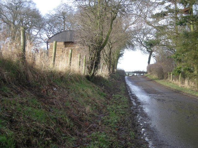 Lane and Barn
