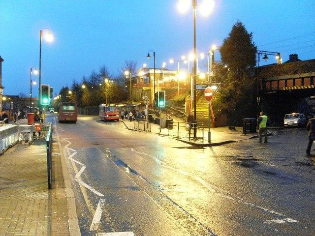 Chalmers Street interchange, Clydebank