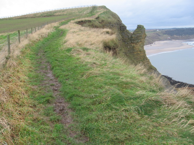 Cleveland Way at Lebberston Cliff