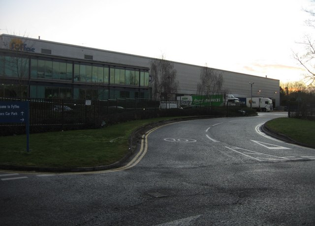 Fyffes depot - delivery bays