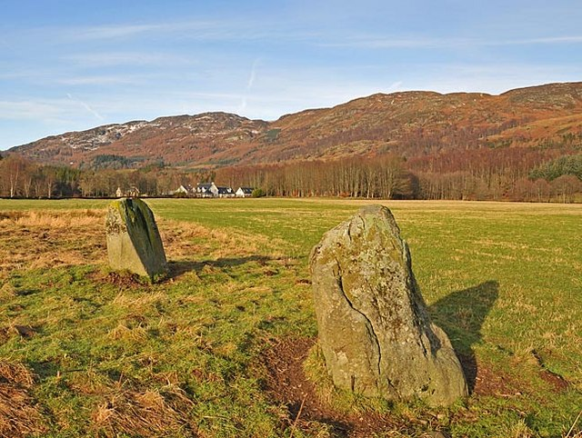 Remains of Stone Circle west of Comrie