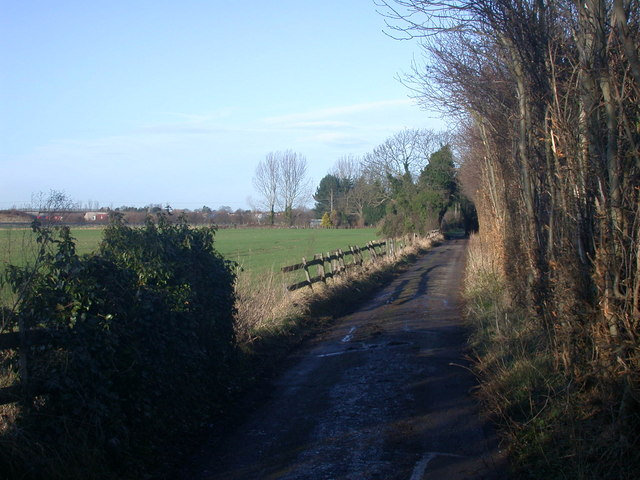 Track to Woodhouse Farm