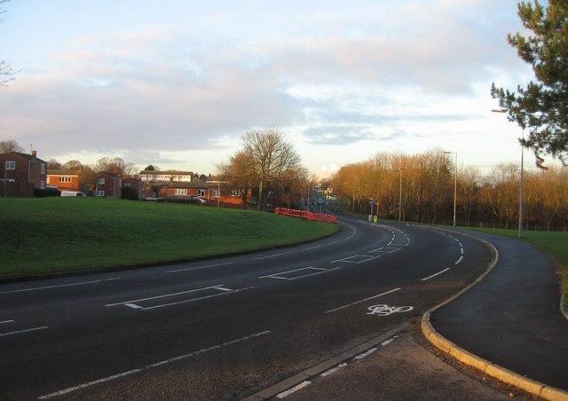 Winklebury Way - turning north