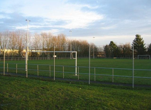 Soccer pitch - FA Hants HQ