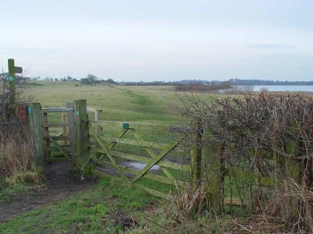 Footpath by the Mere, Hornsea