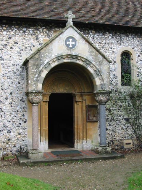 Porch on the church of St Mary The Virgin, Betteshanger