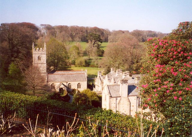 St Hyderoc's Church, 	Lanhydrock