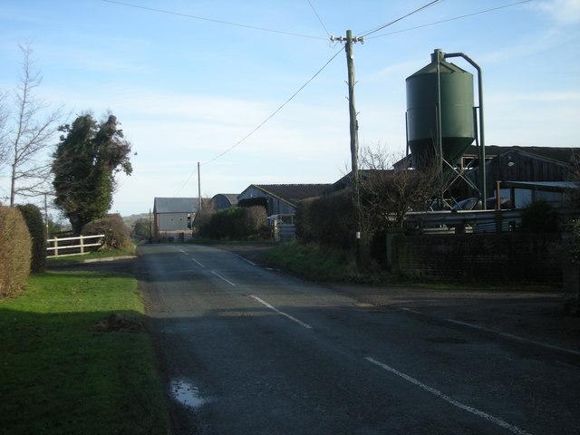 Main road through Stockton