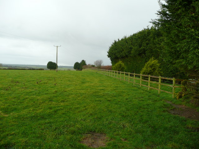 Pasture by Charman's Barn
