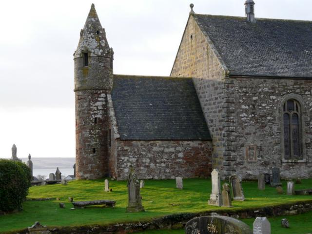 Old tower, St Mary's church, Kilmuir