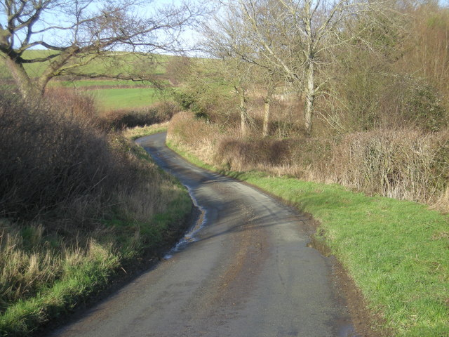 Lane from Ackley Farm