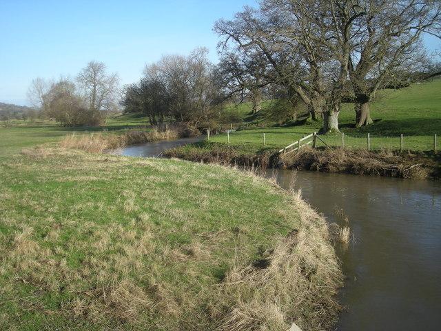 Camlad from Shiregrove Bridge