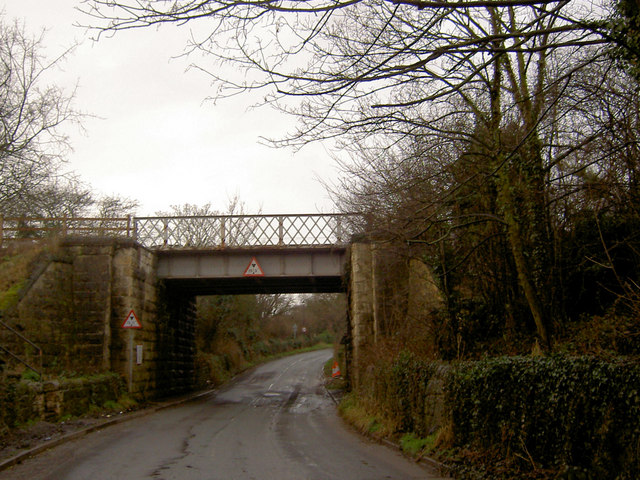 Rail bridge serving Maltby colliery