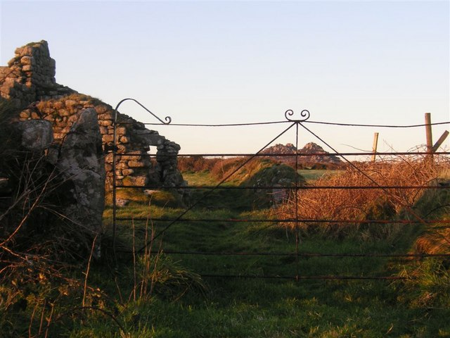 Ruined cottage, West Penwith moors