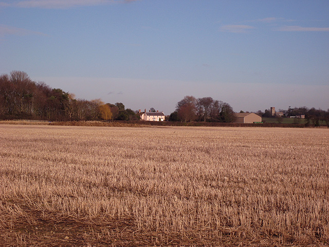Ness Farm from Erwarton Ness