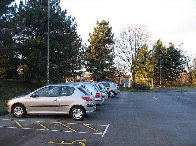 Car park for Winklebury playing fields