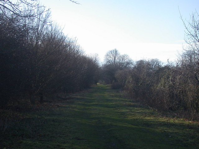 Bridleway from Landbeach to Kings Hedges