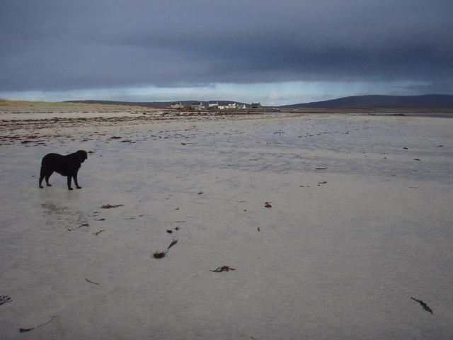 Beach near Caolas Phaibeil