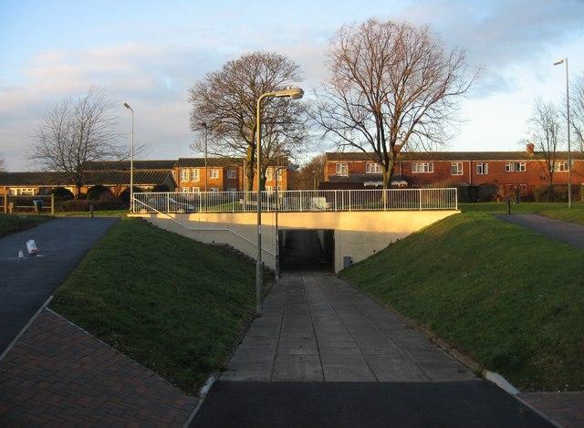 Underpass under Winklebury Way