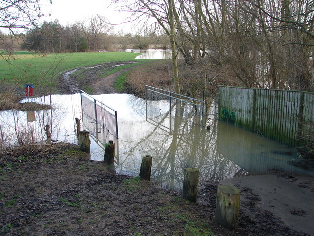 Flooding of the River Cherwell