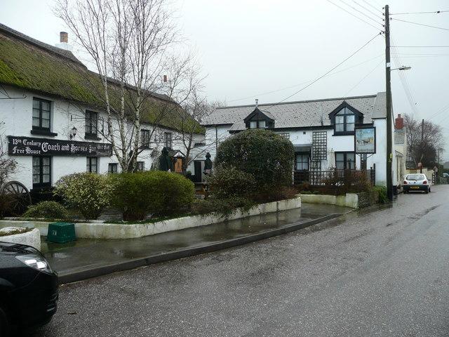 The Coach and Horses Inn, Buckland Brewer