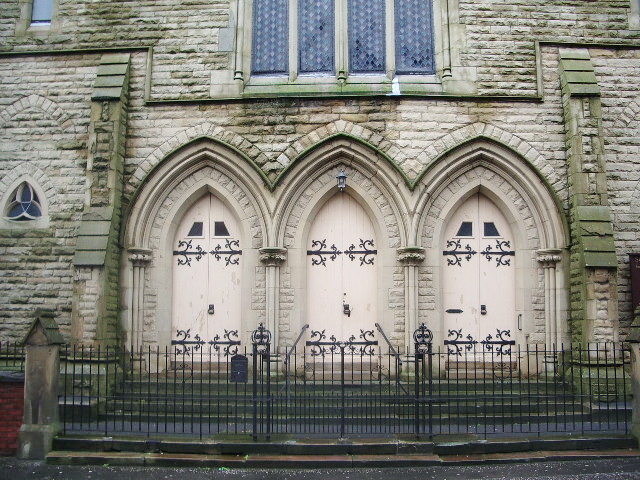 Seventh-Day Adventist Church, Grimshaw Street, Preston, Doorway
