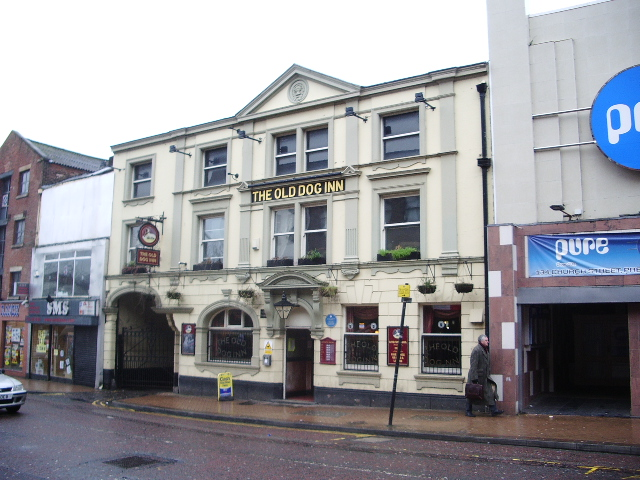 The Old Dog Inn, Church Street, Preston