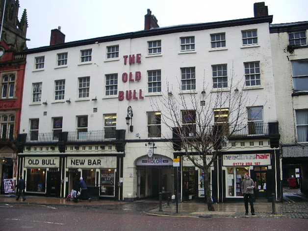 The Old Bull, Church Street, Preston