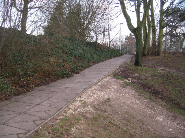 Footpath ramp