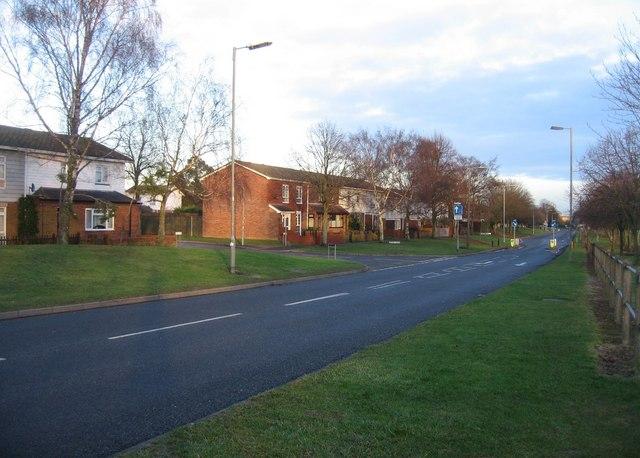 Look east - Winklebury Way