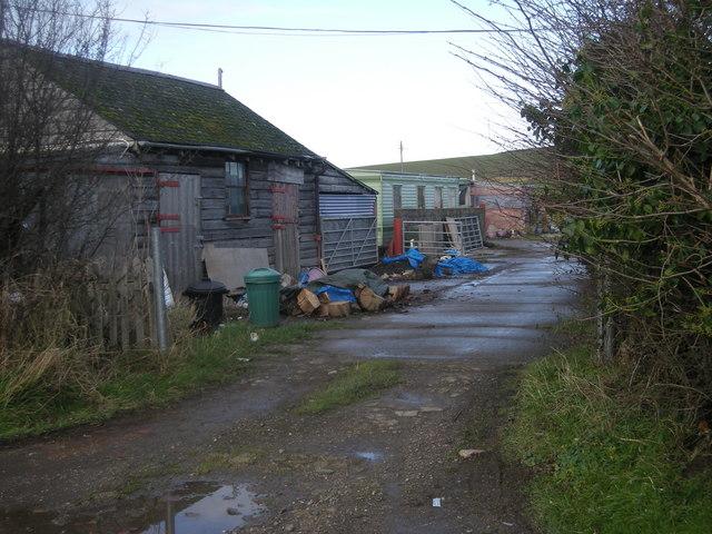Farm buildings at Geryeryn